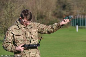 British Army is testing tiny autonomous 'bug drones' that can fly in strong winds of 50mph and spy on enemies more than a mile away
